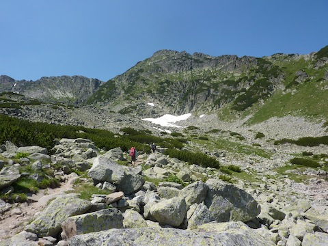 Ascending Mt. Musala in Rila Mountains