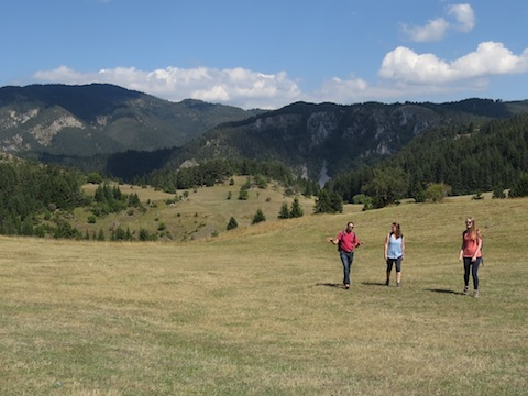 Walking in Rodopi Mountains