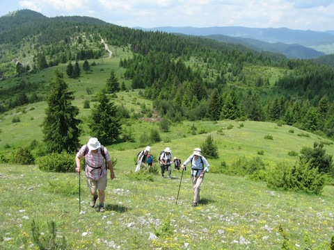 Walking Holiday in the Rodopi Mountains